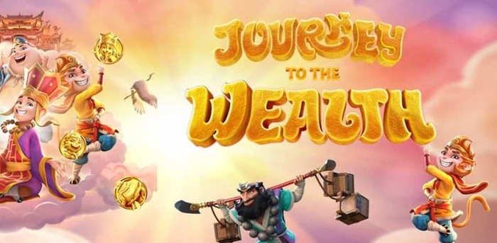 SLOT ONLINE รีวิวเกม journey to the wealth